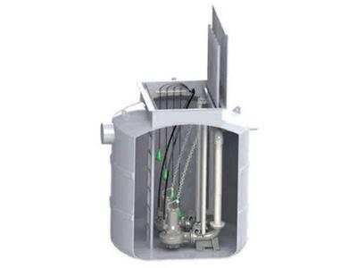 Estación de Bombeo Aguas Residuales - Bombas Ideal