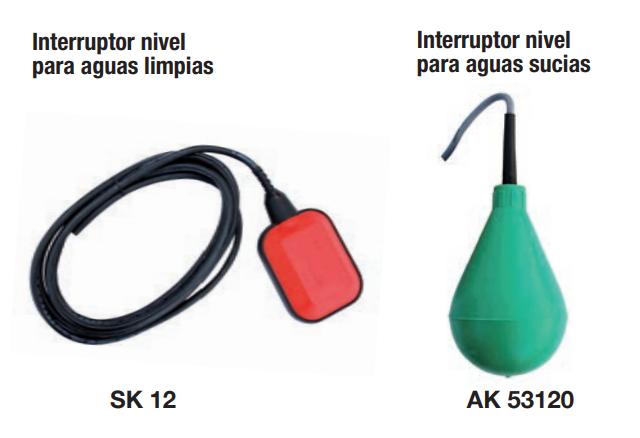 Interruptores de nivel