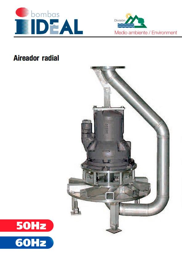 Aireador Radial Serie AR. Bombas Ideal
