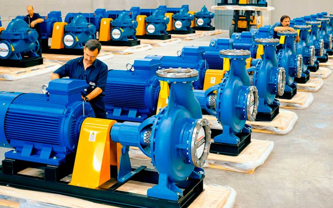 Horizontal centrifugal pumps SERIE CP in Bombas ideal