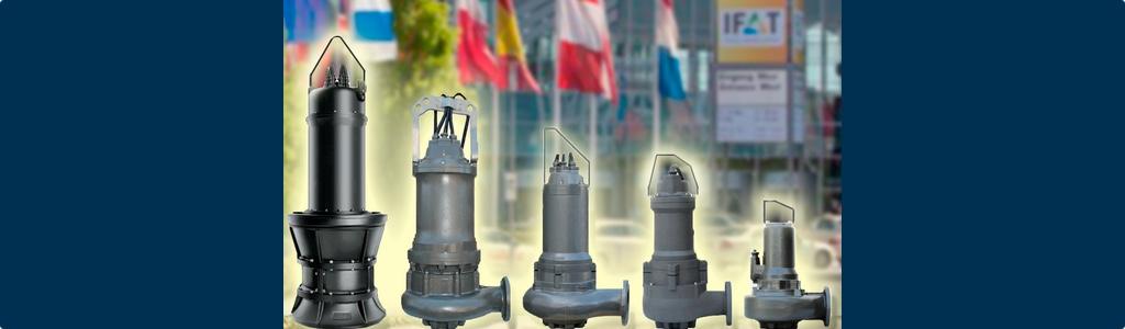 Bombas Ideal acudirá a IFAT 2016