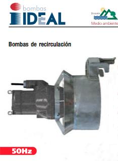 Catálogo Bombas de Recirculación Serie BR. Bombas Ideal