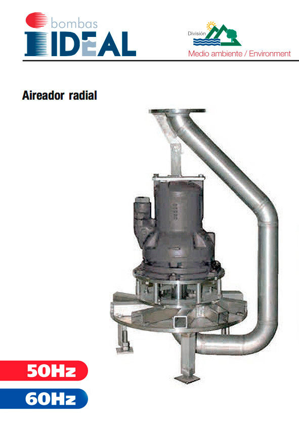 Aireador Radial Serie AR. Bombas Ideal