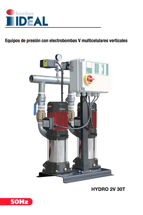 Catálogo Equipos de presión Hydro V, Bombas Ideal