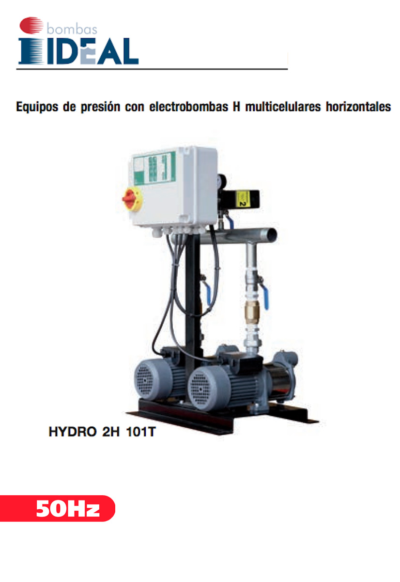 Serie Hydro H. Bombas Ideal