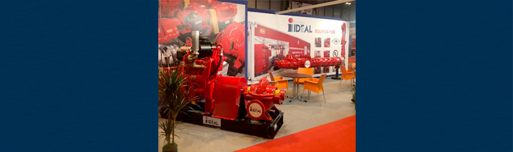 Fire Pumping Equipment at SICUR 2018