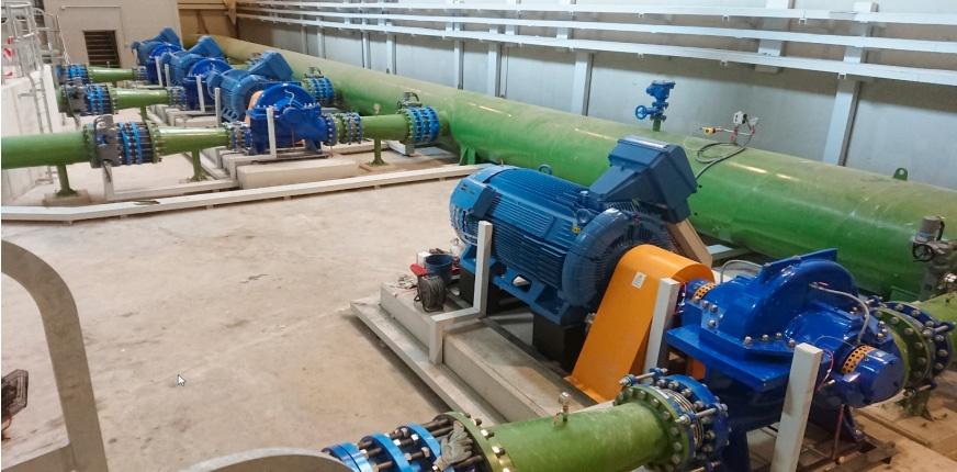 Sostenibilidad y eficiencia en el abastecimiento y bombeo de agua potable en Bilbao