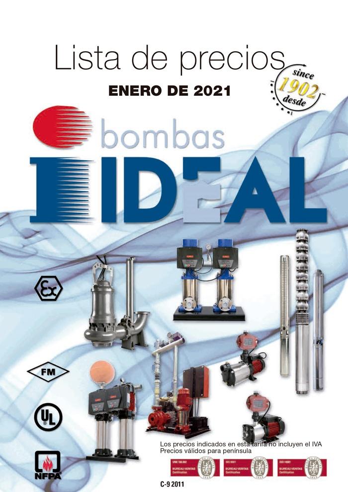 Catálogo de Distribución de Bombas Ideal